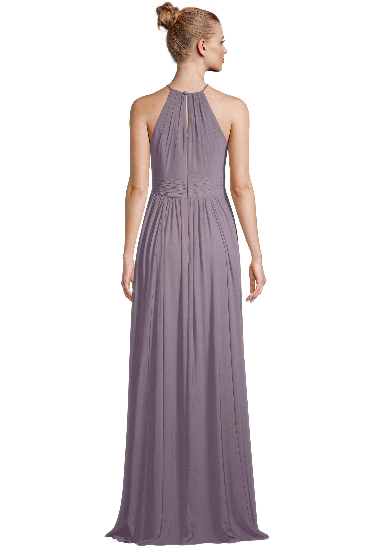 Bill Levkoff HEATHER Chiffon Keyhole A-line gown, $99.00 Back