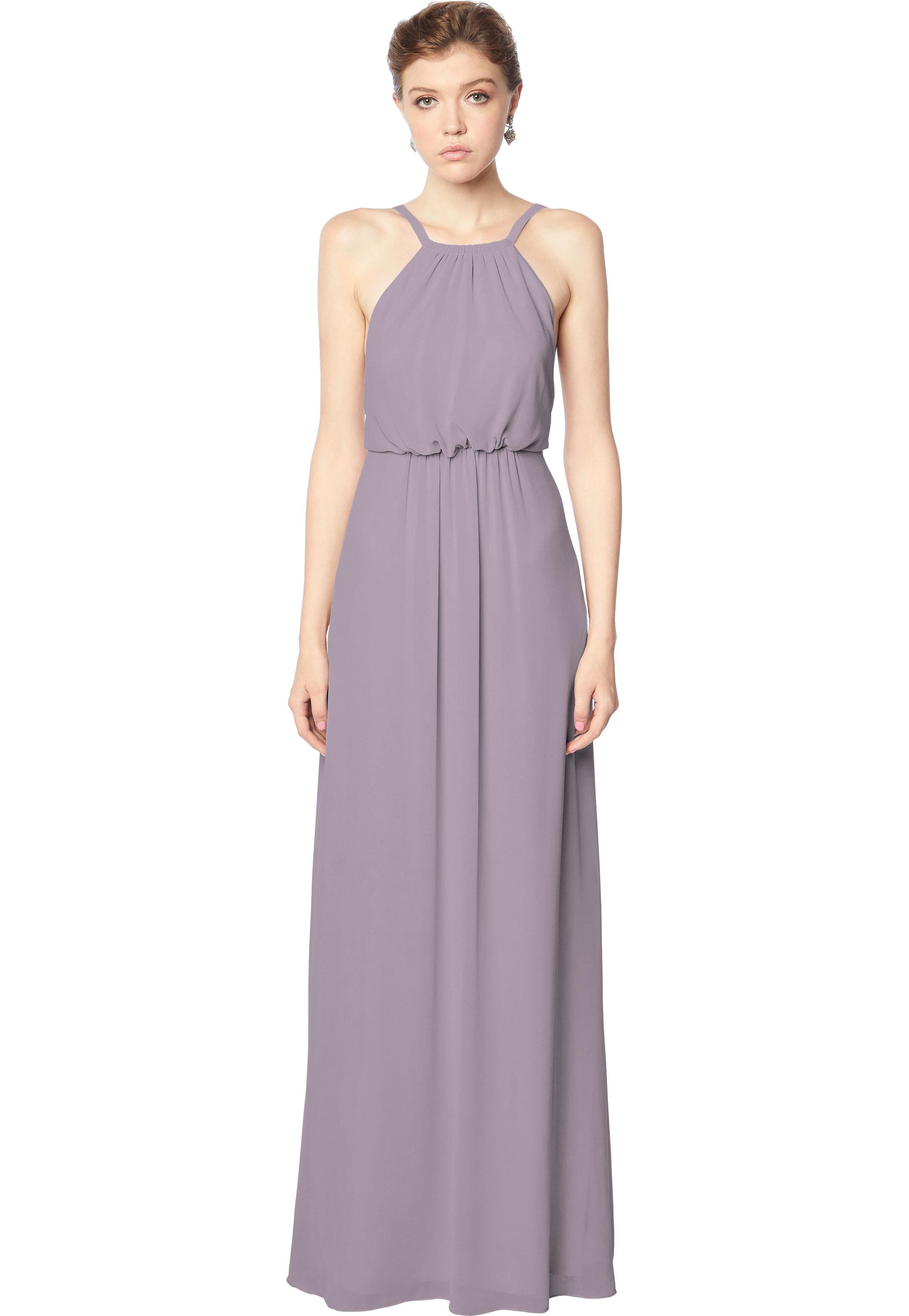 Bill Levkoff HEATHER Chiffon Blouson A-line gown, $158.00 Front