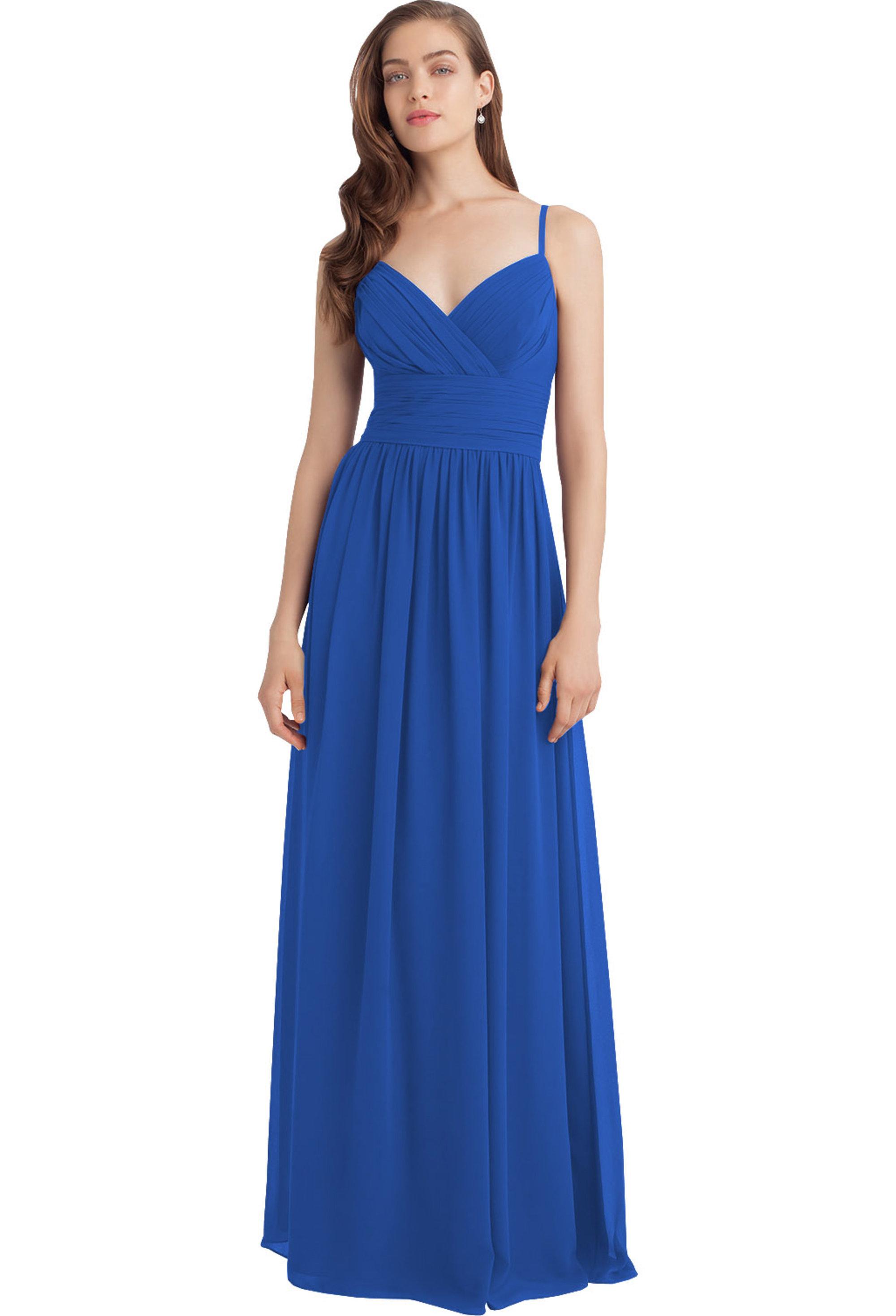 Bill Levkoff HORIZON Chiffon Sweetheart A-line gown, $216.00 Front