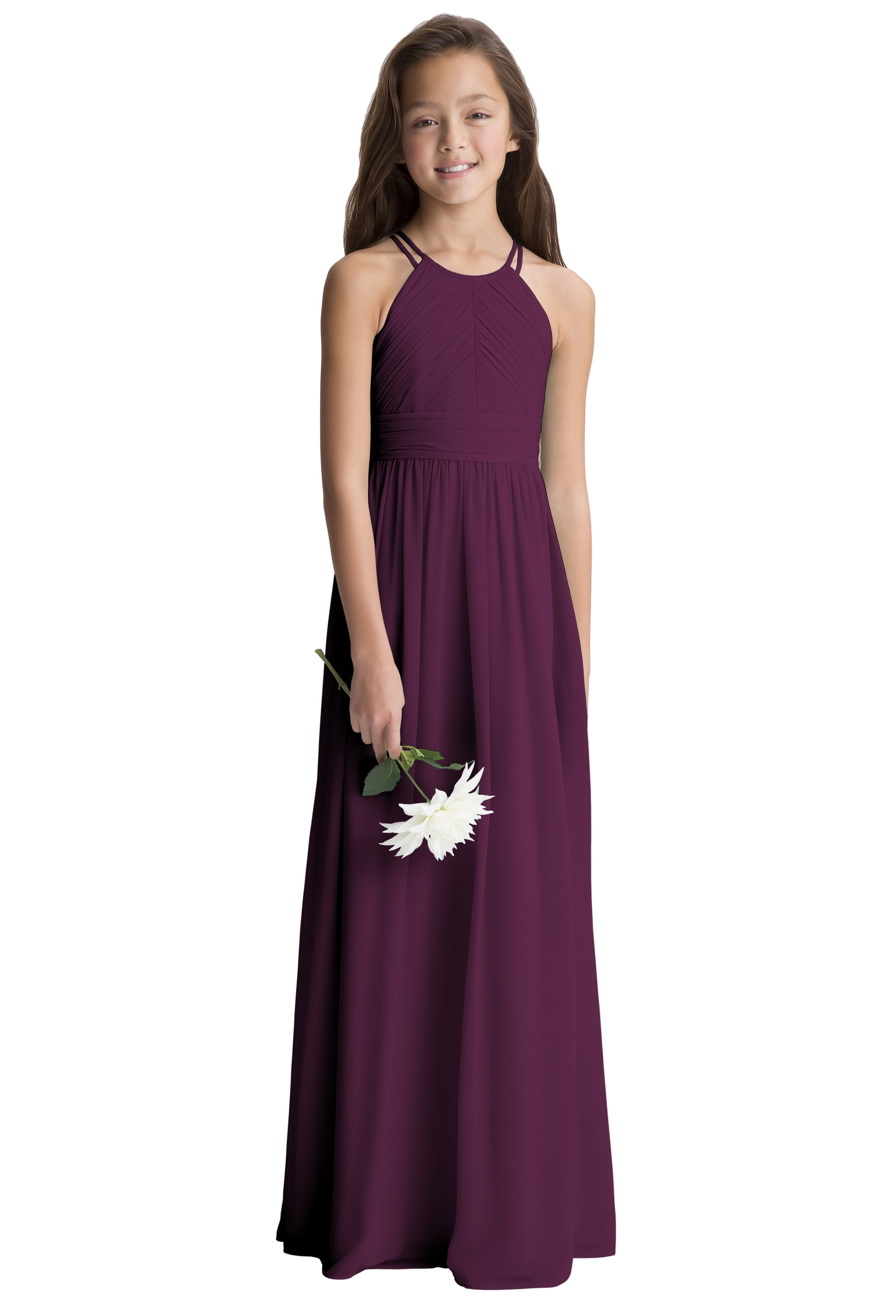 Bill Levkoff EGGPLANT    gown, $190.00 Front