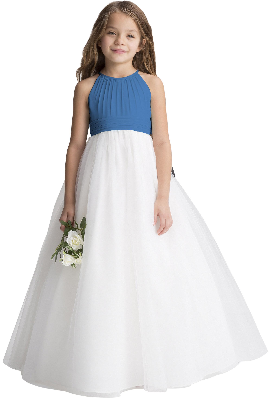 Bill Levkoff CORNFLOWER    gown, $190.00 Front