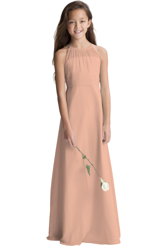 Bill Levkoff PEACH    gown, $190.00 Front