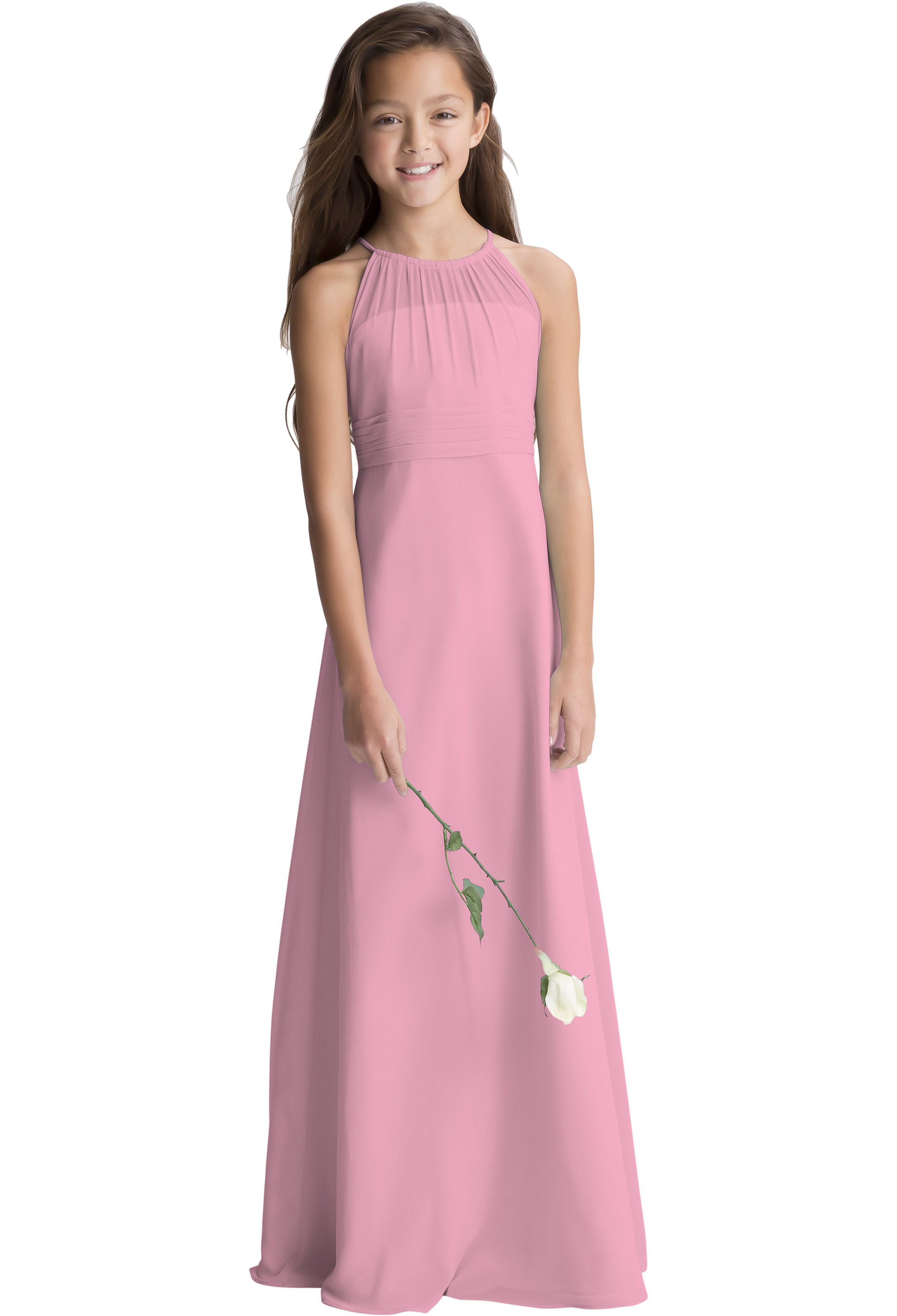 Bill Levkoff ROSEPETAL    gown, $190.00 Front