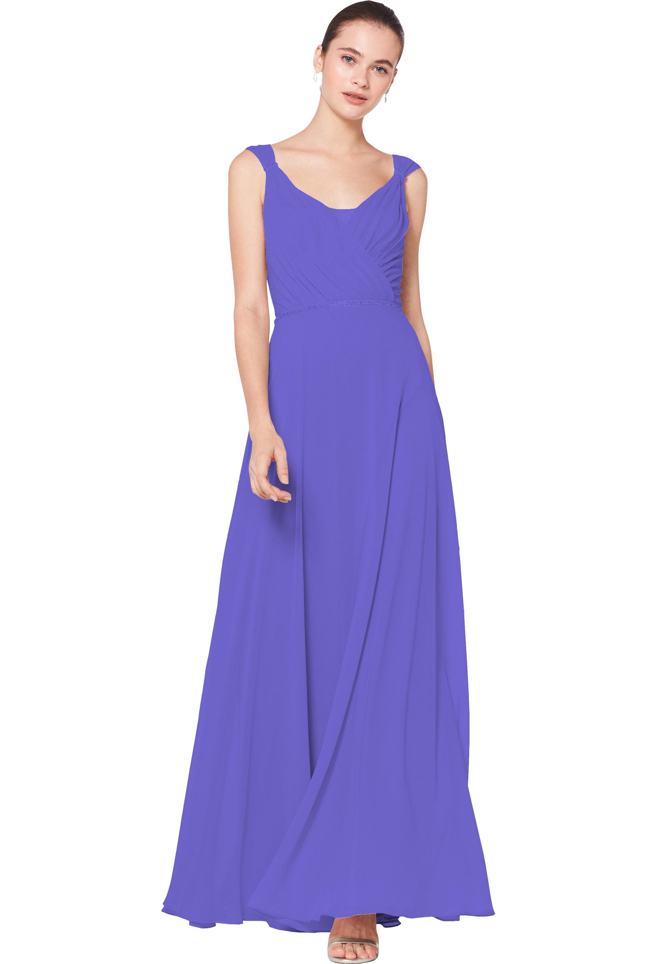 Bill Levkoff REGENCY Chiffon Sleeveless A-line gown, $230.00 Front