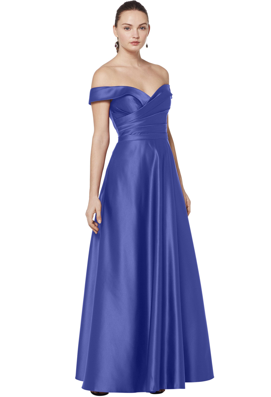 Bill Levkoff EURO HORIZON European Satin Sweetheart A-line gown, $210.00 Front