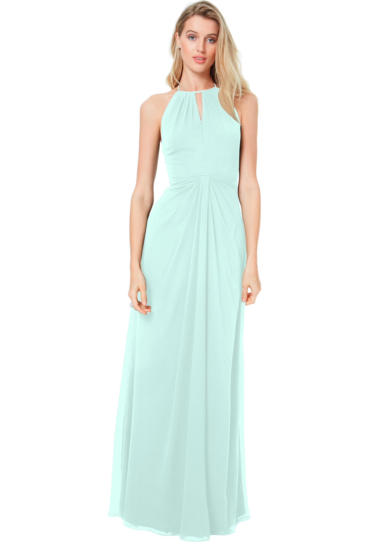 Bill Levkoff MINT Chiffon Sweetheart A-line gown, $178.00 Front