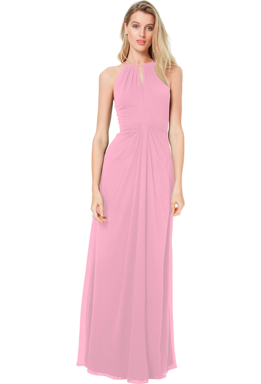 Bill Levkoff ROSEPETAL Chiffon Sweetheart A-line gown, $178.00 Front