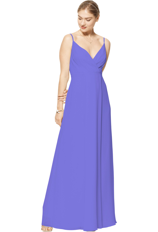 Bill Levkoff REGENCY Chiffon V-neck A-line gown, $170.00 Front